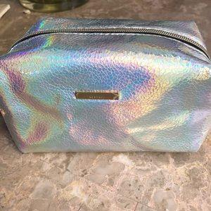 Kestrel iridescent pouch bag makeup organizer